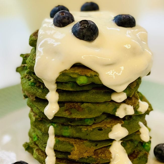 veggie pancakes for dogs