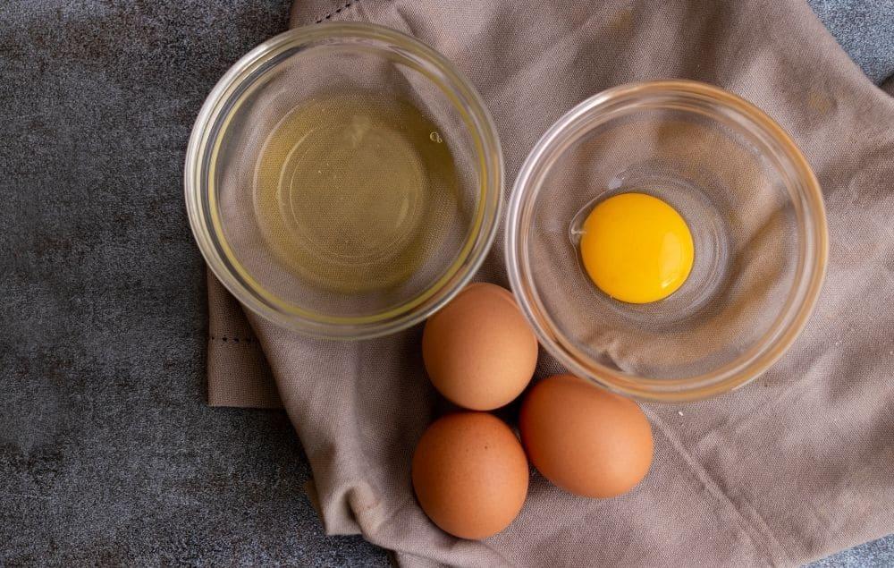 Eggs - yolk or egg white