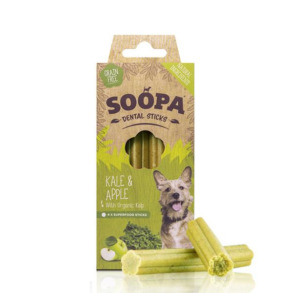 soopa kale and apple dental sticks