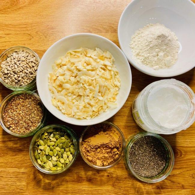 seeded bounty bar ingredients