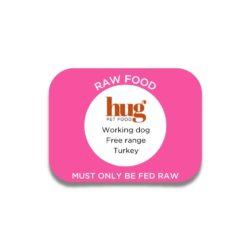 working dog turkey label